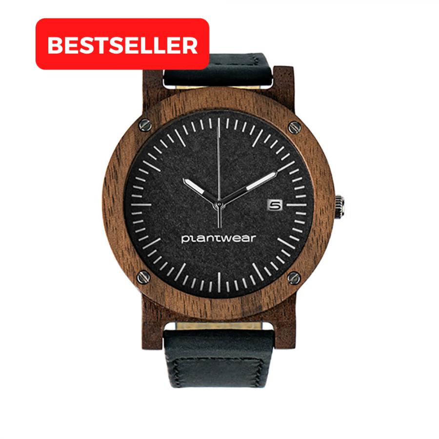 drewniany zegarek, raw palisander