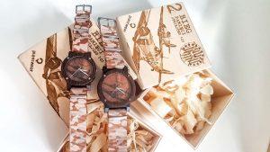 Drewniany zegarek dywizjon 303