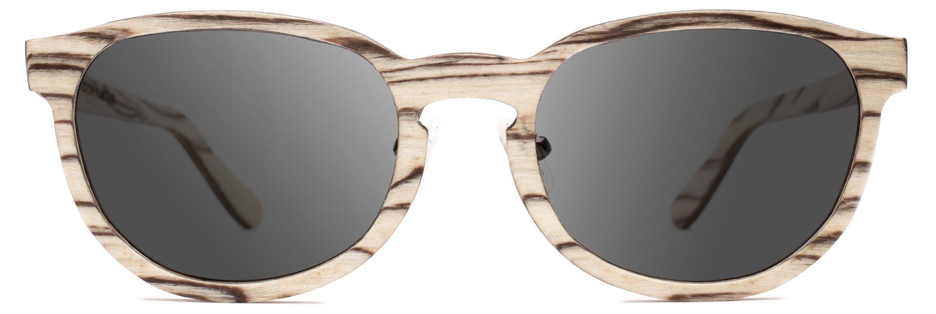 Drewniane okulary Ambition Series – Icewood – Grey 1
