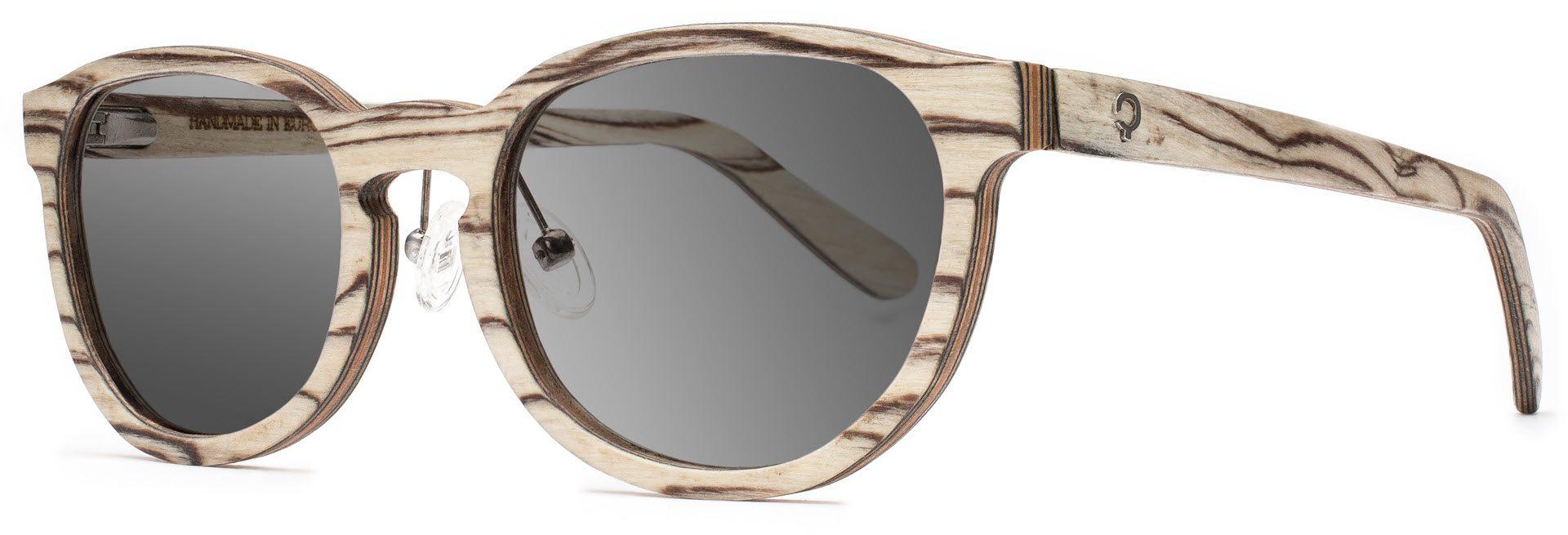 Drewniane okulary Ambition Series – Icewood – Grey 2