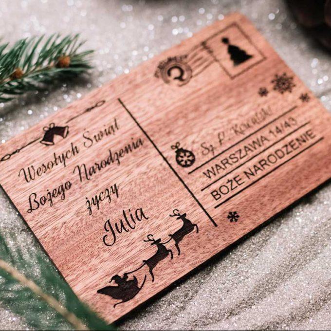 kartka na święta, kartka na boże narodzenie, prezent na święta