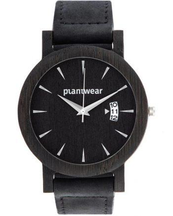 drewniany zegarek royal czarny dąb