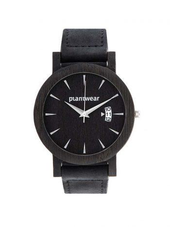 Drewniany zegarek royal czarny dab