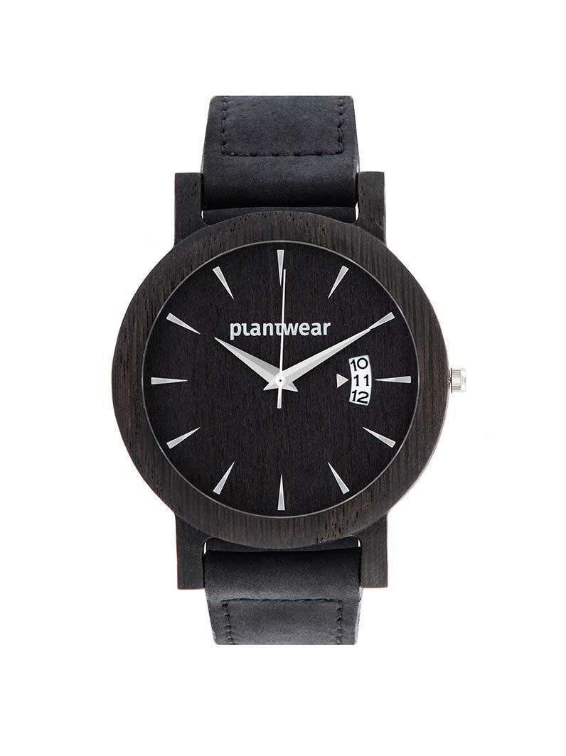 24ba3512194cc7 Drewniany zegarek royal czarny dab · drewniany zegarek plantwear