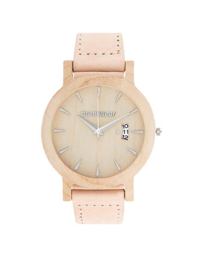 Drewniany zegarek royal klon