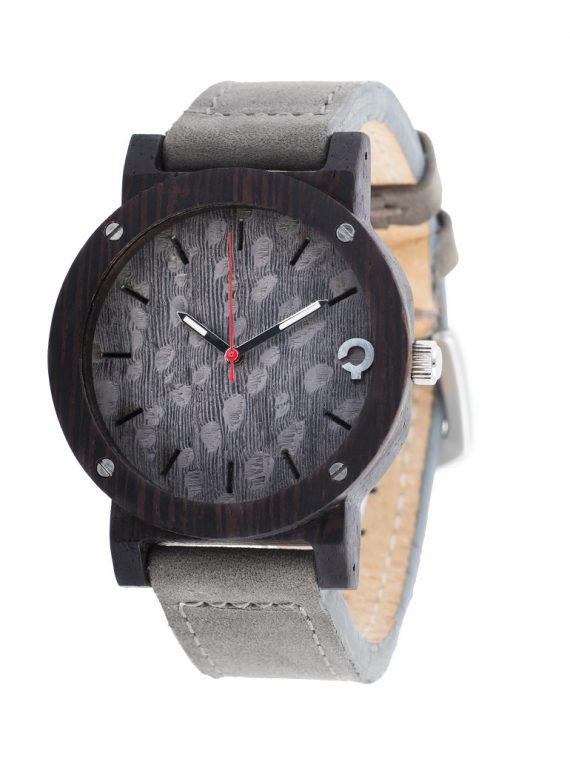 Drewniany Zegarek – Flake Series – Grey 2