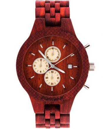 drewniany zegarek fox padouk