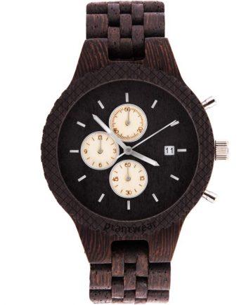 drewniany zegarek fox wenge