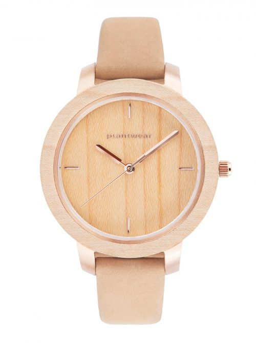 drewniany zegarek plantwear fusion