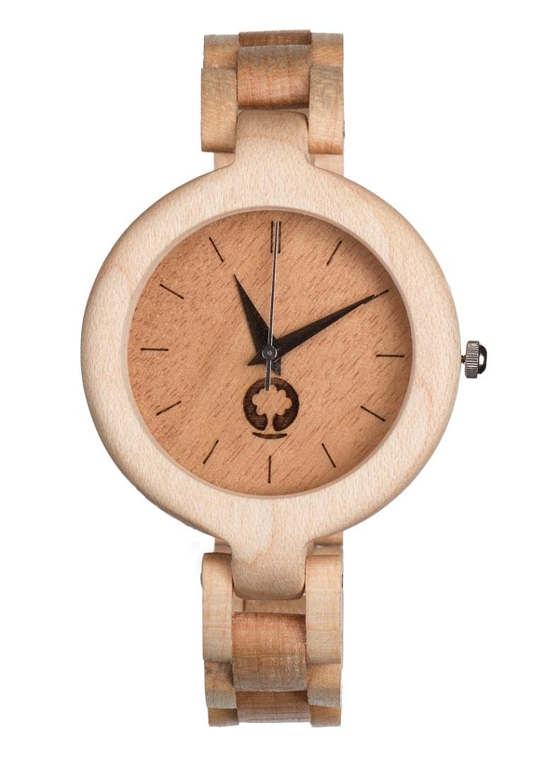 drewniany zegarek Glamour Klon