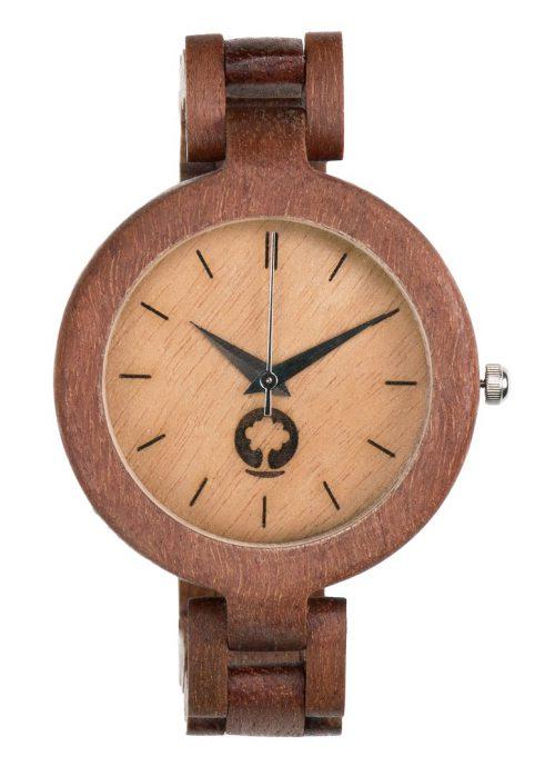 drewniany zegarek Glamour Massaranduba