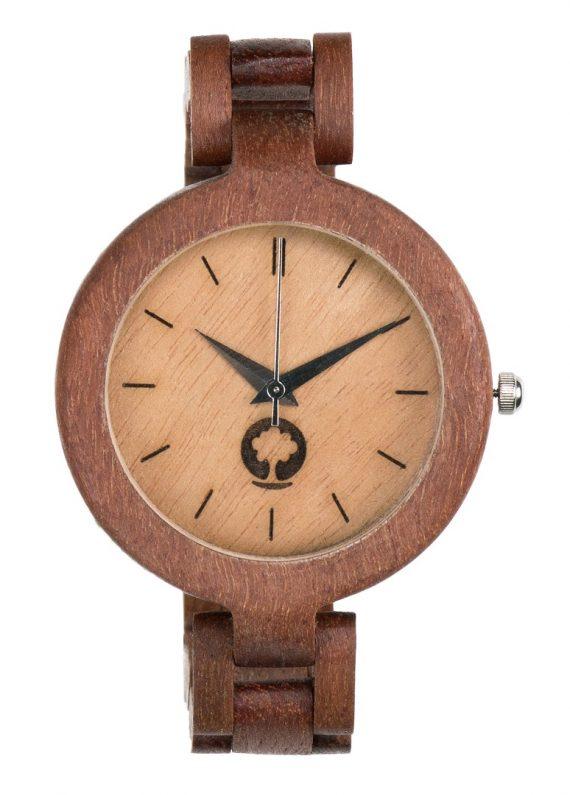 Drewniany zegarek Glamour Massaranduba 1