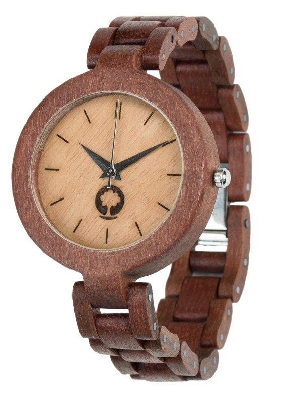 Drewniany zegarek Glamour Massaranduba 2