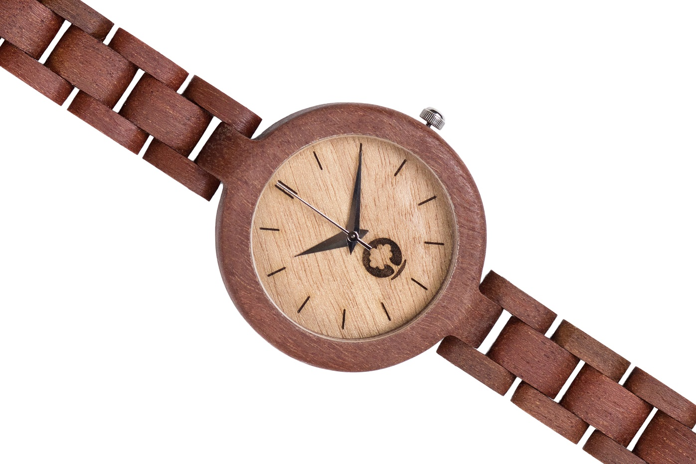Drewniany zegarek Glamour Massaranduba 3