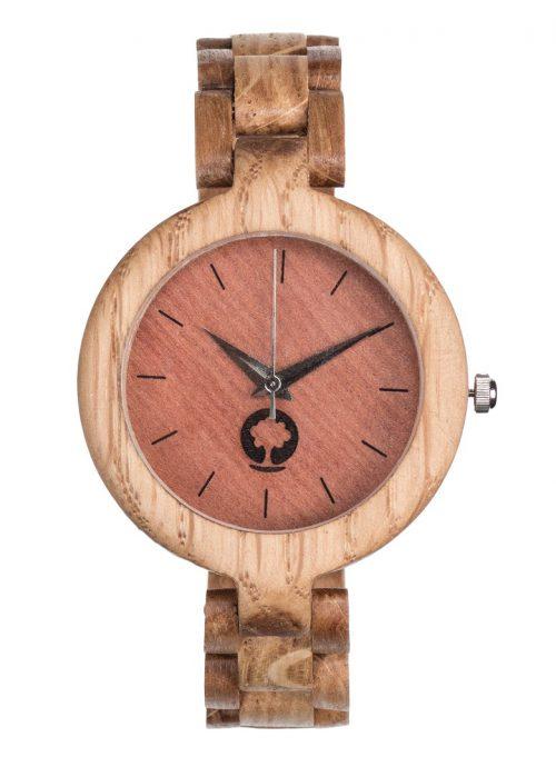 drewniany zegarek Glamour Dąb