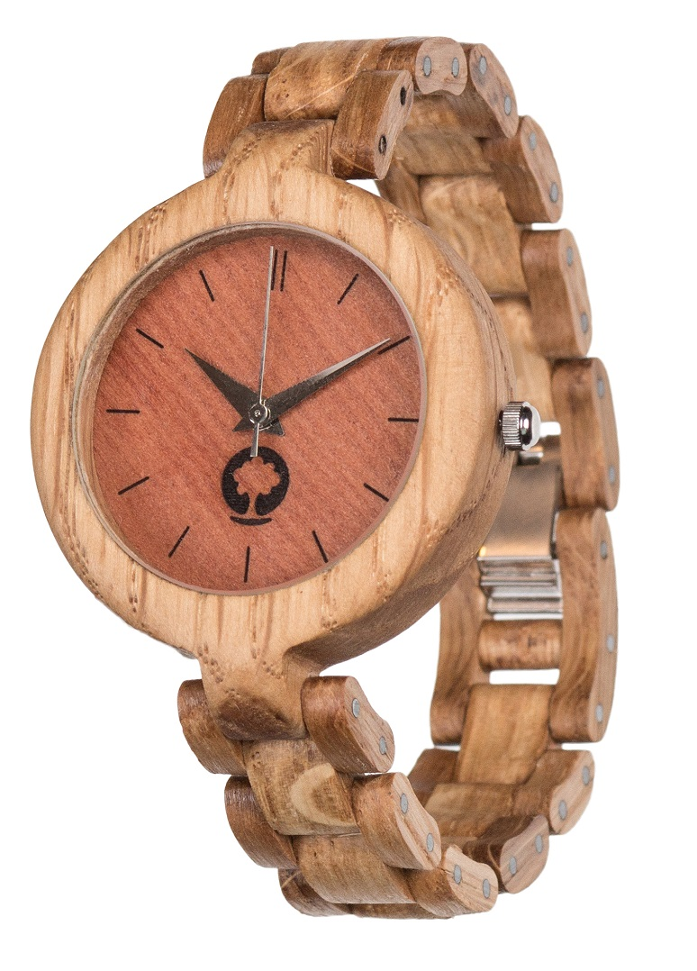 Drewniany zegarek Glamour Oak 2
