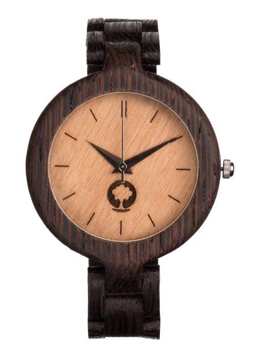 drewniany zegarek Glamour Wenge