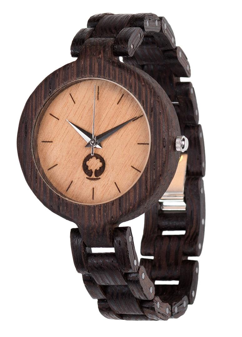 Drewniany zegarek Glamour Wenge 2