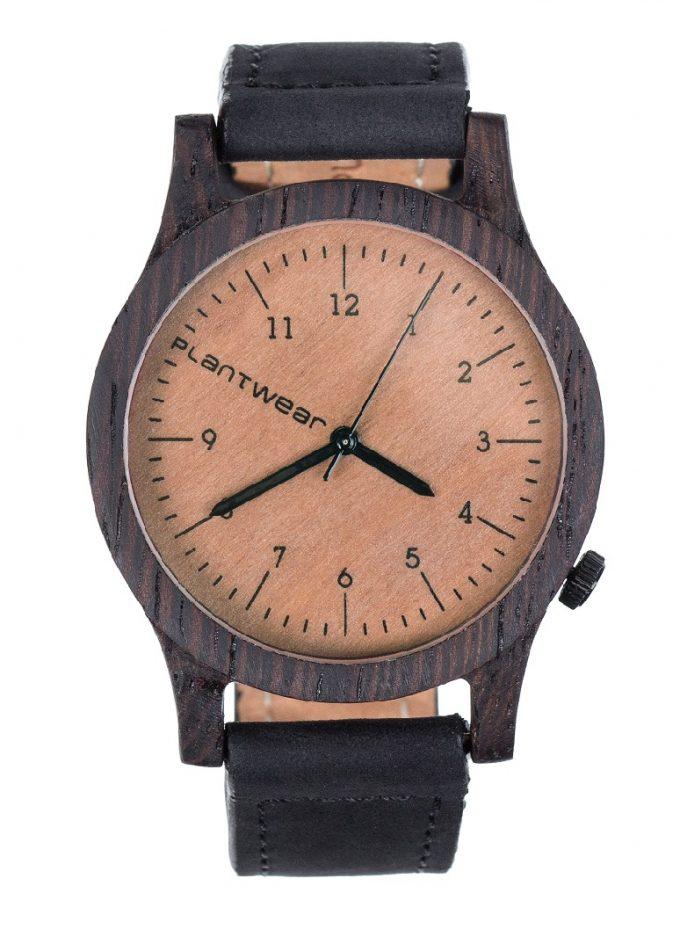 drewniany zegarek Heritage Heban