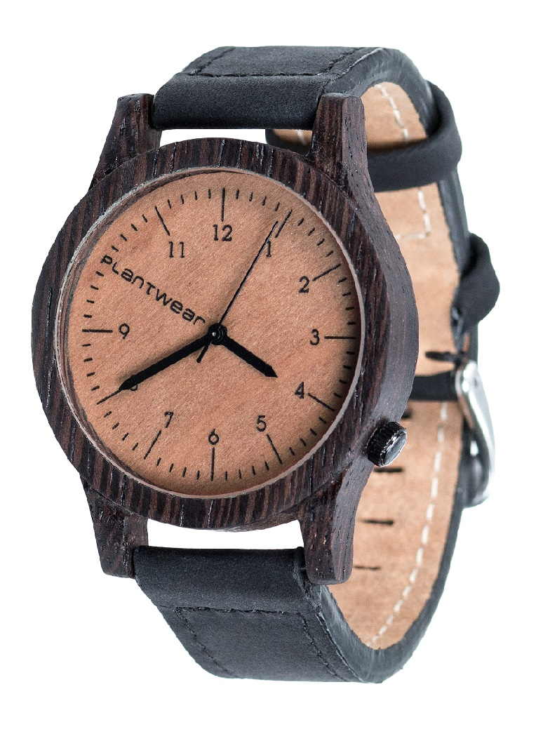 Drewniany zegarek Heritage Ebony 2