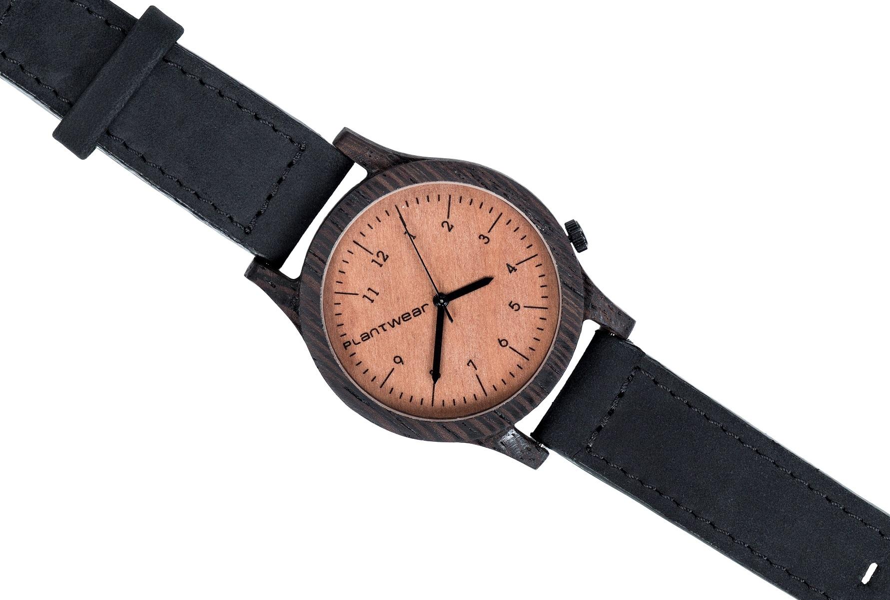 Drewniany zegarek Heritage Ebony 3