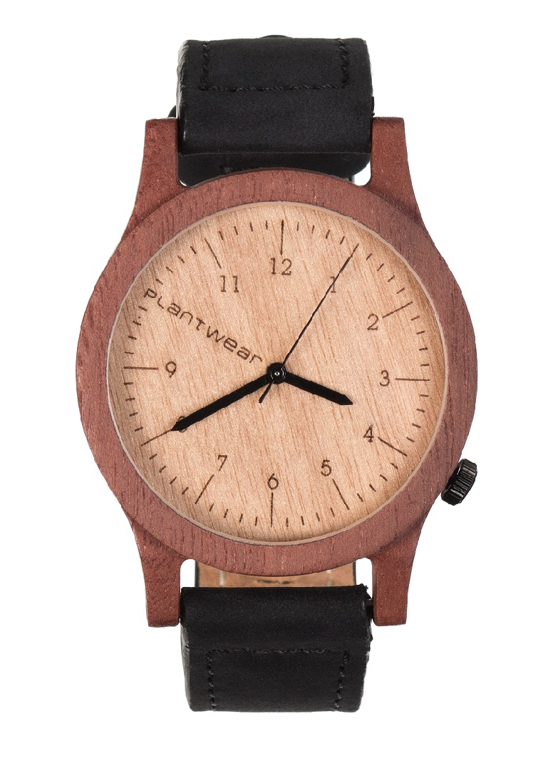 Drewniany zegarek Heritage Massaranduba 1