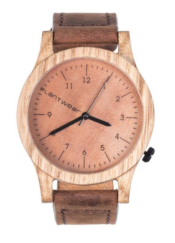 Drewniany zegarek Heritage Oak 1