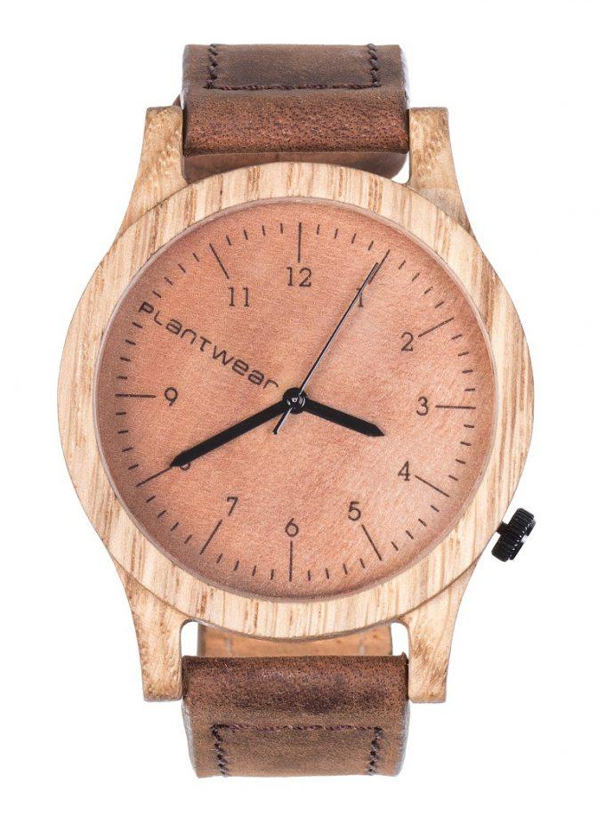drewniany zegarek Heritage Dąb