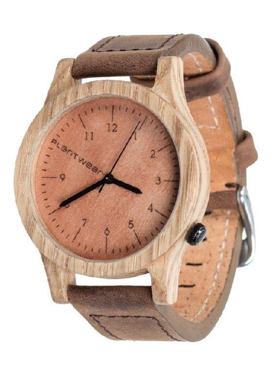 Drewniany zegarek Heritage Oak 2