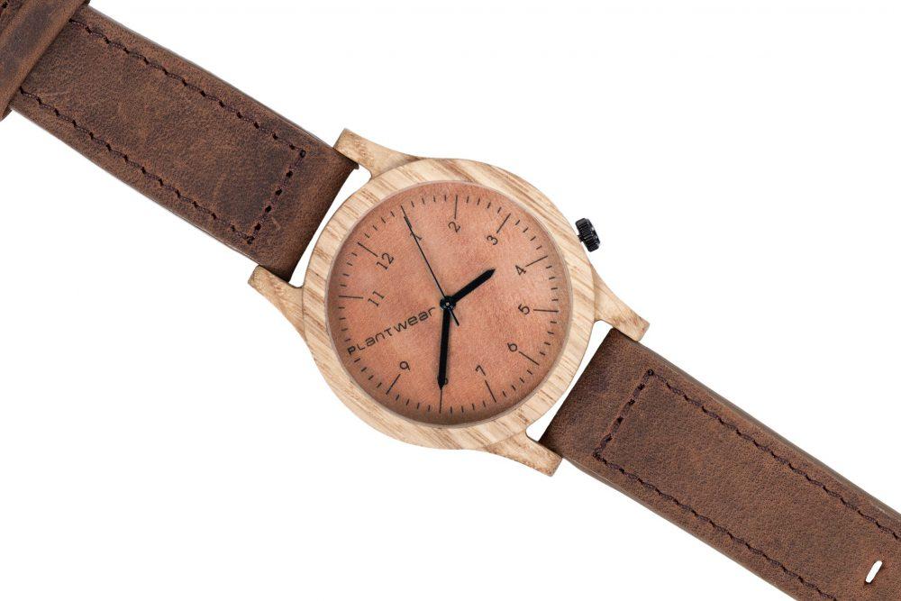 Drewniany zegarek Heritage Oak 3
