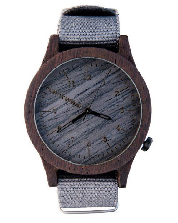 Drewniany zegarek Heritage Series – Grey edition – Ebony 1