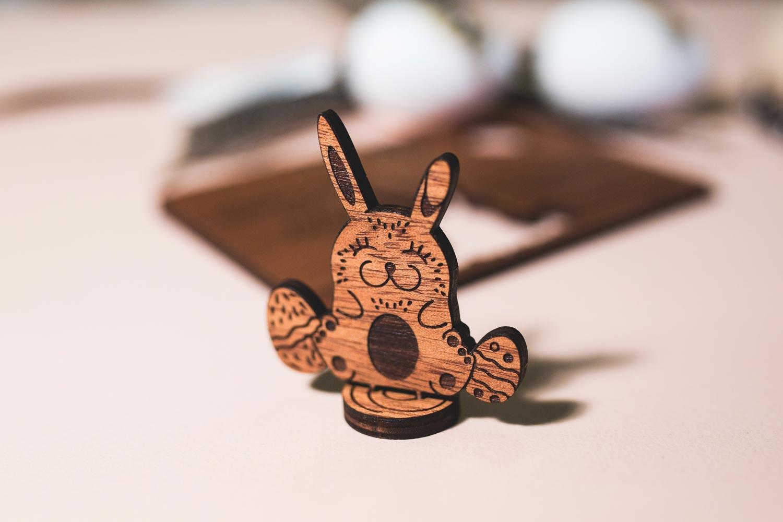 zajaczek wielkanocny, prezent na wielkanoc, kartka na wielkanoc