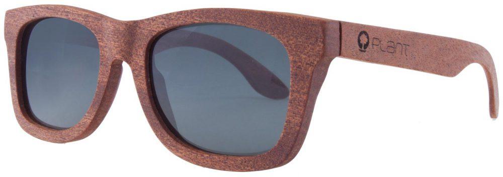 Drewniane okulary Lans Mahogany Grey 2
