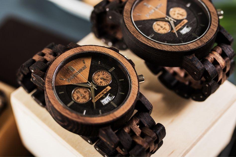 zegarki z drewna