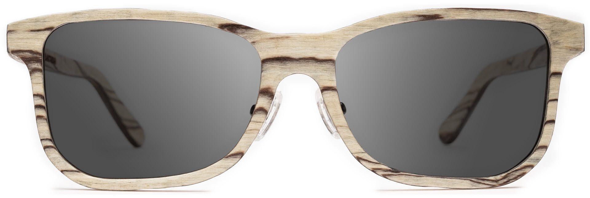 Drewniane okulary Pure Series – Icewood – Grey 1