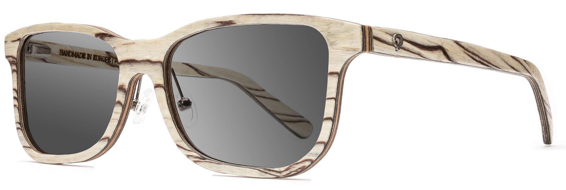 Drewniane okulary Pure Series – Icewood – Grey 2