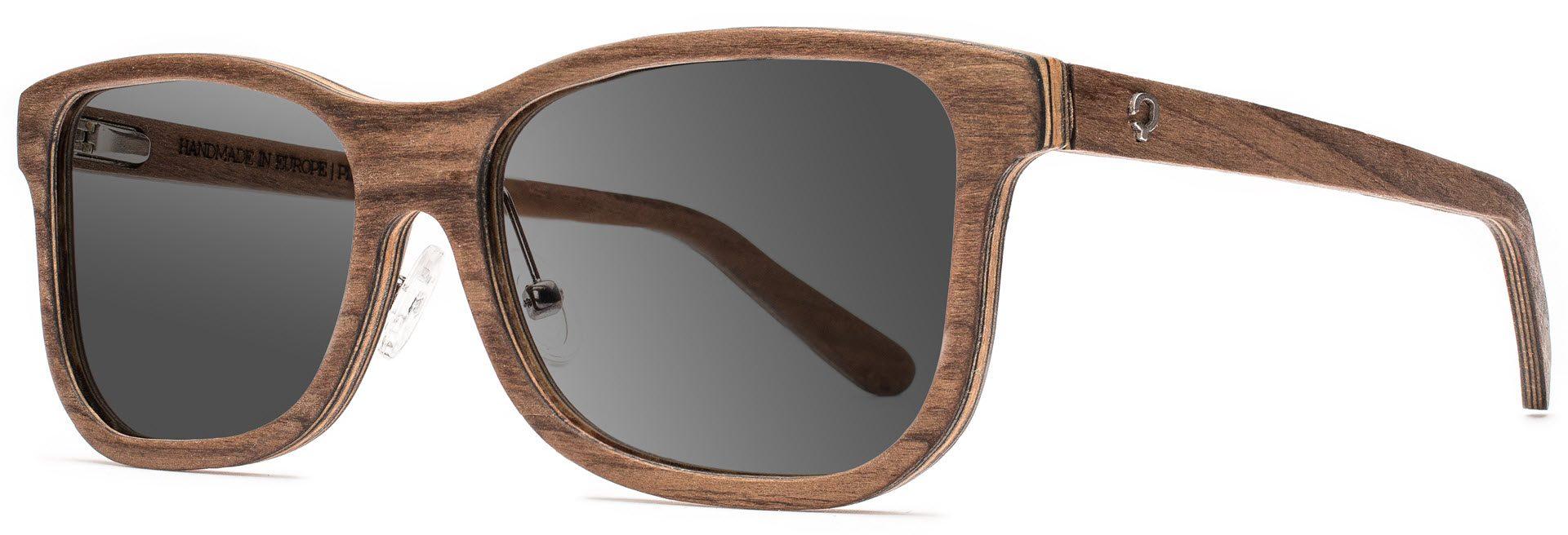 Drewniane okulary Pure Series – Walnut – Grey 2