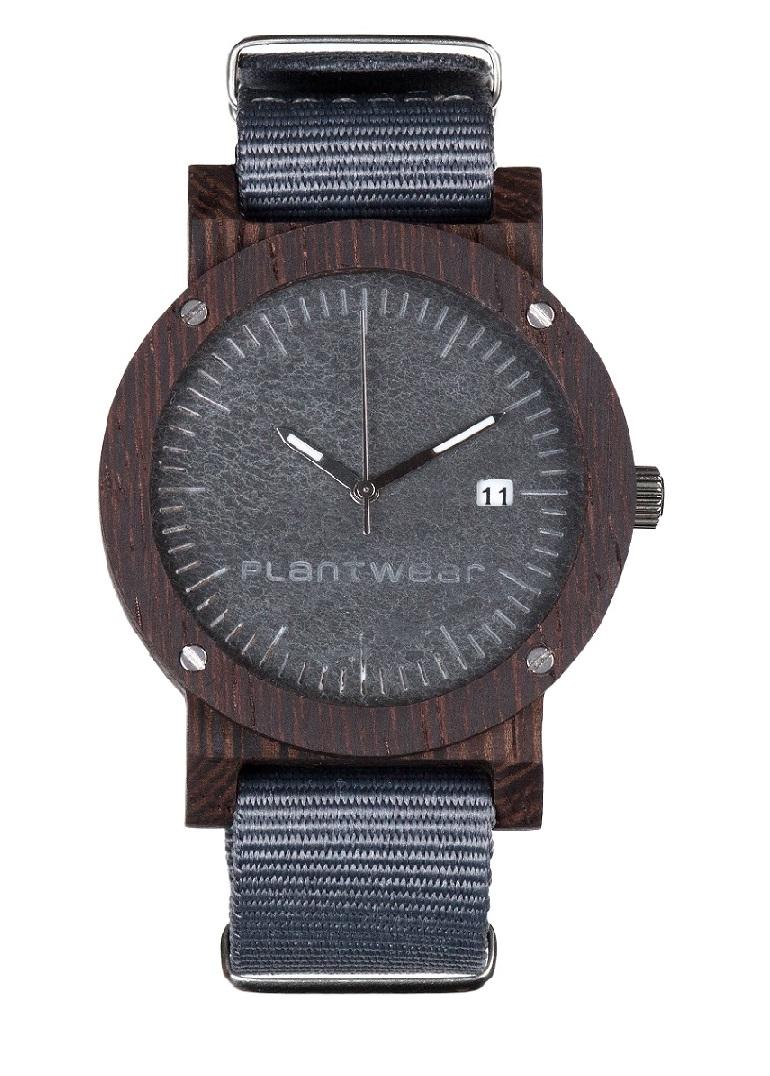 Drewniany zegarek Raw Ebony 1