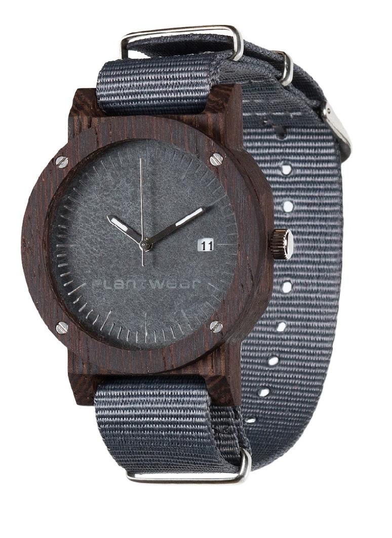 Drewniany zegarek Raw Ebony 2
