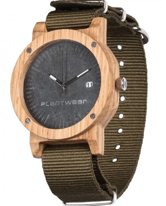 Drewniany zegarek Raw Oak 2