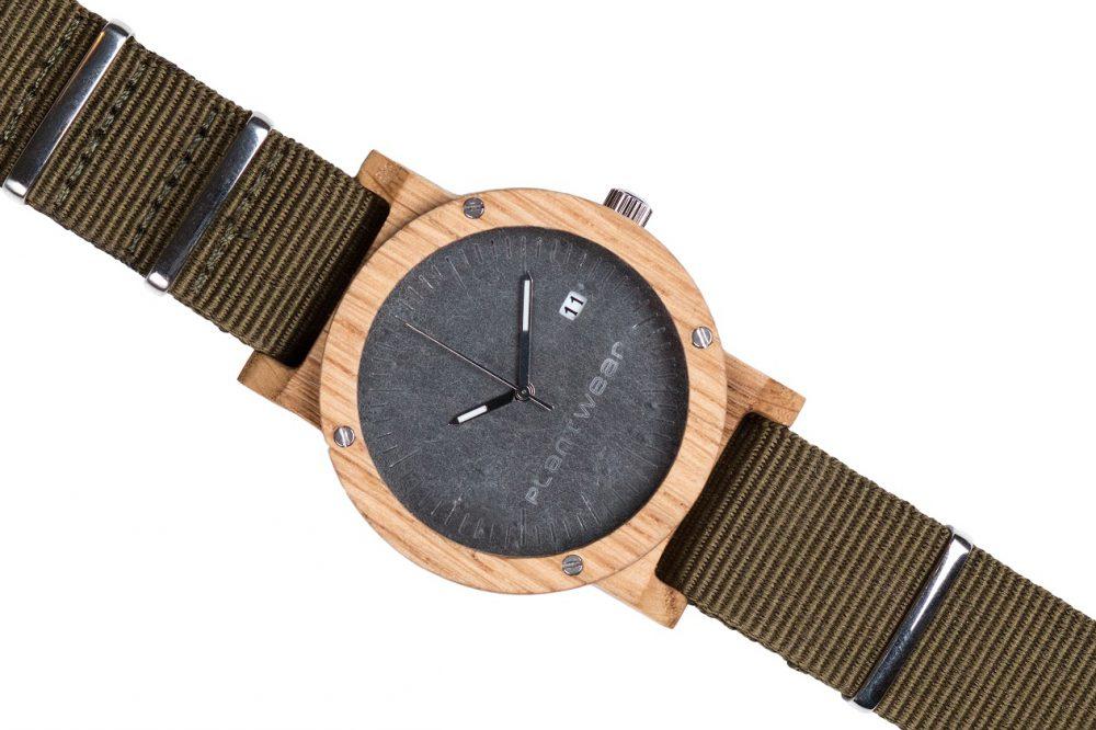 Drewniany zegarek Raw Oak 3