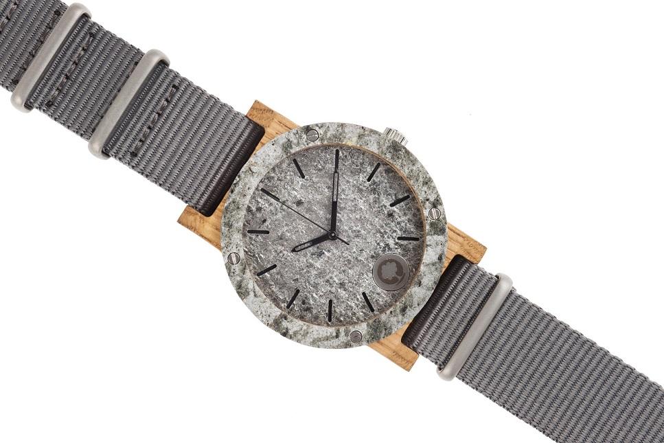 Drewniany zegarek Raw Silver Oak 3