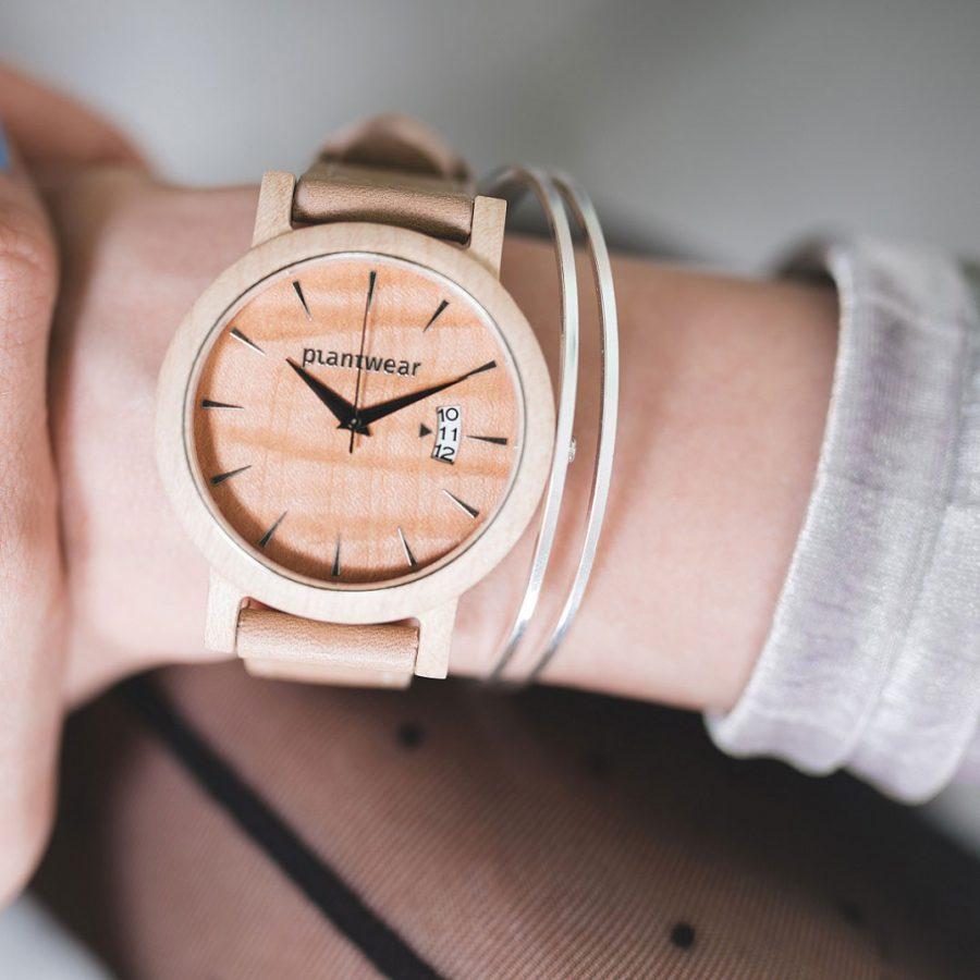drewniany zegarek plantwear