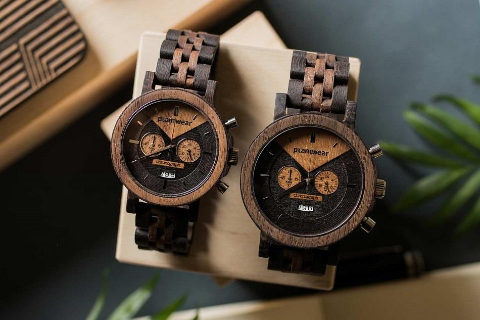drewniane modne zegarki plantwear