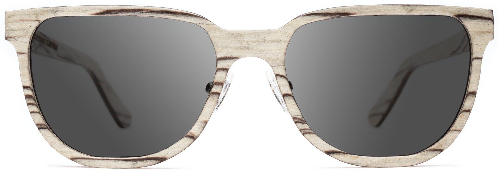 Drewniane okulary Sharp Series – Icewood – Grey 1