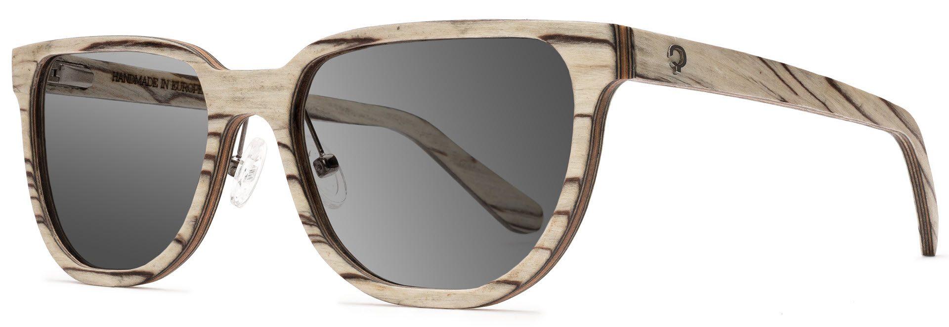 Drewniane okulary Sharp Series – Icewood – Grey 2