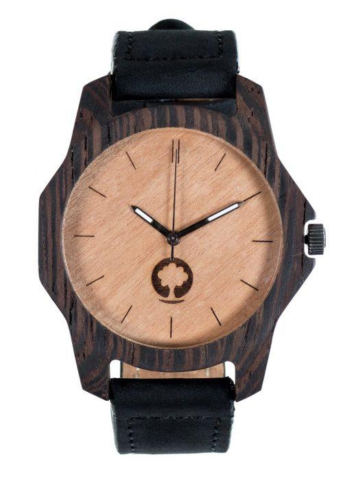 drewniany zegarek Sierra Heban