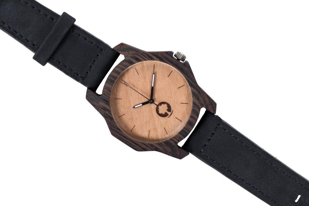 Drewniany zegarek Sierra Ebony 3