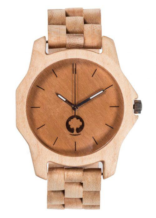 drewniany zegarek Sierra Klon