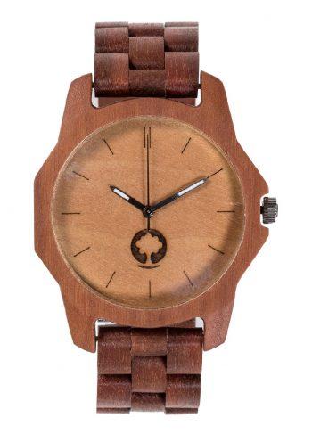 drewniany zegarek Sierra Massaranduba